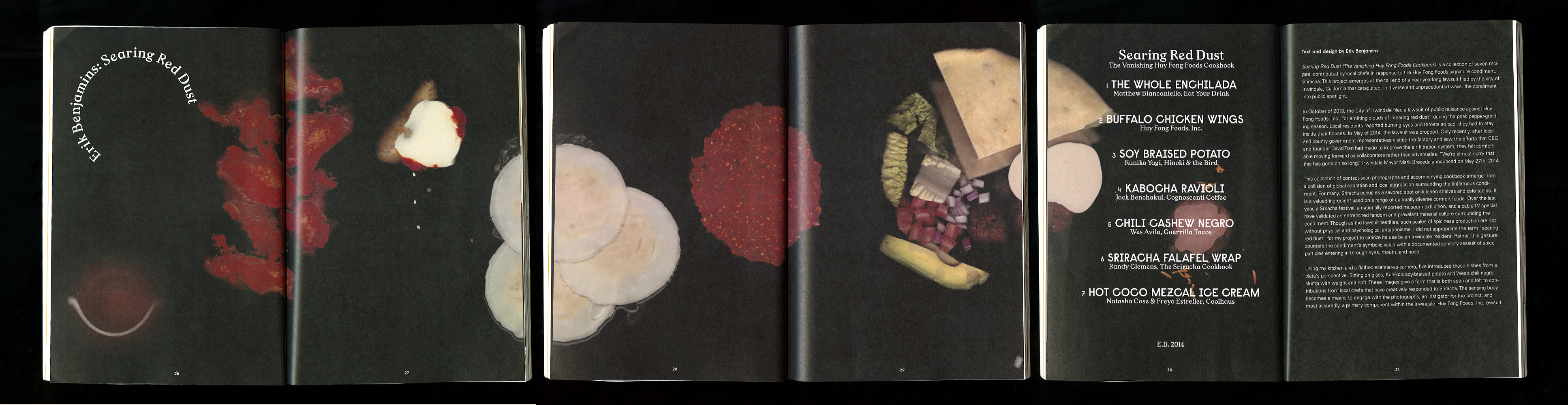 Searing Red Dust (The Vanishing Huy Fong Foods Cookbook), 2014