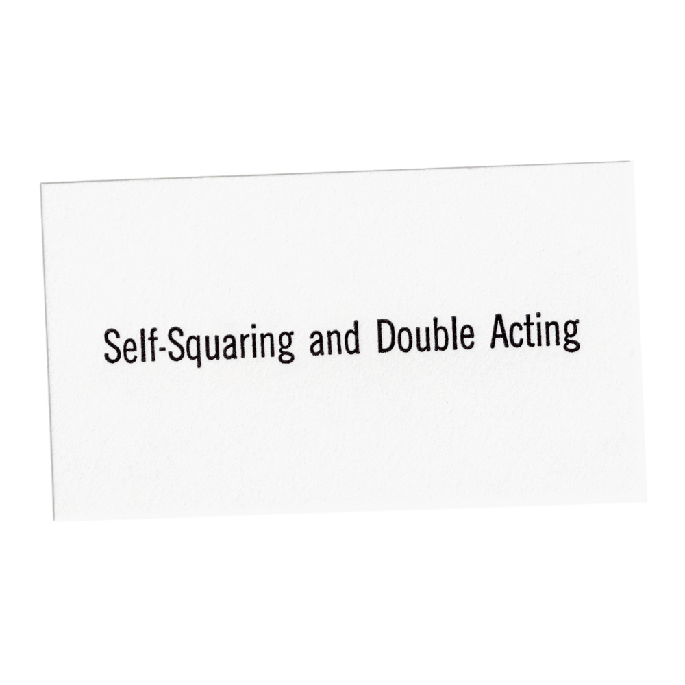 Self-Squaring and Double Acting, 2018
